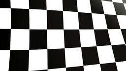 close up checkered flag Stock Video Footage