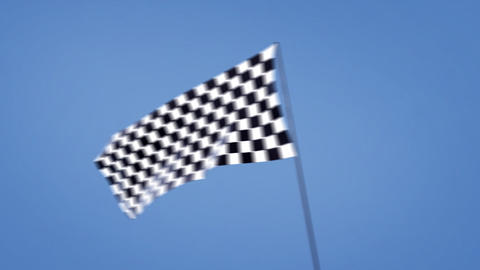 checkered flags cross right Animation