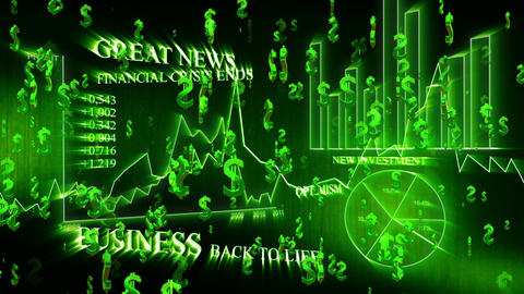 3D Business Dollar 01 Animation