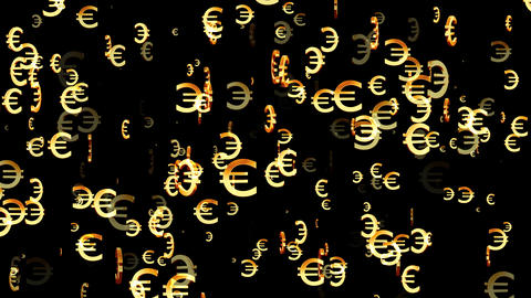 3D Euro Loop 02 alpha Animation