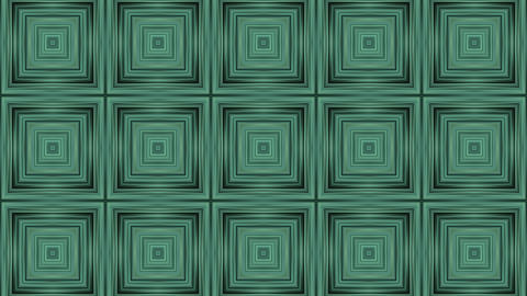 3d green rectangle... Stock Video Footage