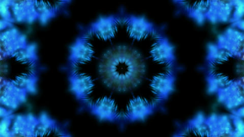 blue lotus flower pattern,retro religion seamless... Stock Video Footage