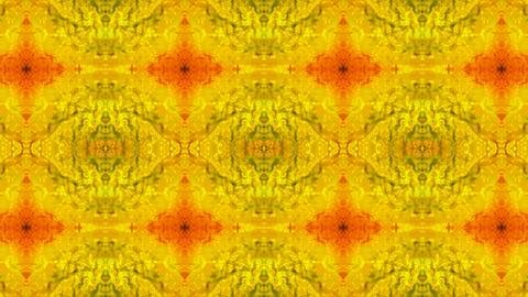 Luxury classical flower pattern,golden fancy ceramic tile,glazed tile,Fractal,particle,Design,symbol Animation