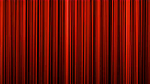 red stage curtain,theater curtain,vertical lines... Stock Video Footage