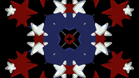 color stars shaped... Stock Video Footage