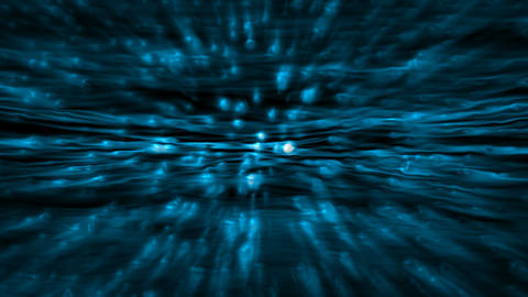 blue glowing... Stock Video Footage
