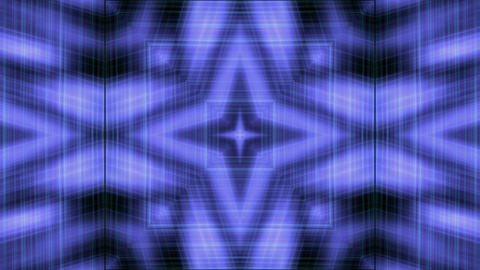 blue lines shaped fiber optic pattern in space,tech... Stock Video Footage