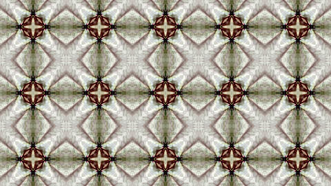 east flower fancy ceramic tile pattern,mosaics puzzle... Stock Video Footage