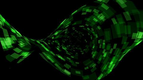Distortion energy field,a binary internet... Stock Video Footage
