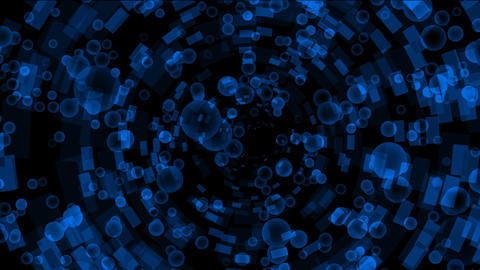 blue bubbles flying from a binary internet tunnel,underwater,soap bubble.Design,pattern,symbol,dream Animation