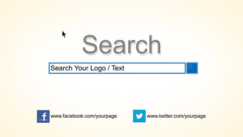 Searching Logo Reveal After Effects Template