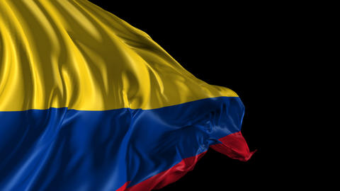 Flag of Colombia Animation