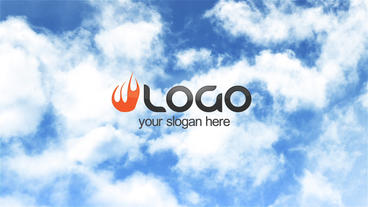 Bright Clouds Logo After Effects Project
