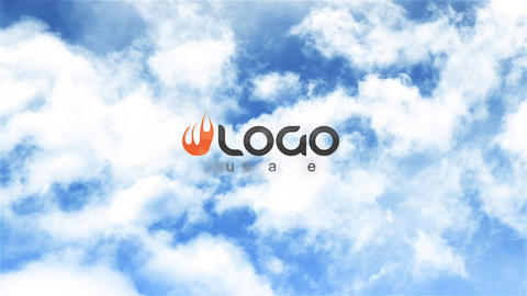 Clouds Logo After Effects Template