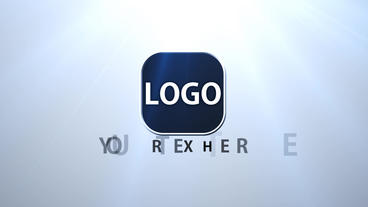 Corporate Logo stock footage