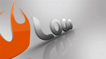 Extruded Logo After Effects Template