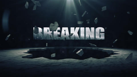 Groundbreaking After Effects Template