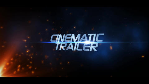 Trailer Energetic After Effects Template