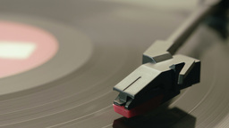 Record player turntable HD Stock Footage Footage