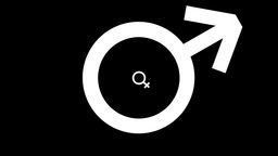 Gender symbols are moving Animation