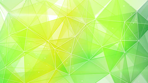 abstract spring geometrical background loop 4k (4096x2304) Animation