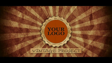 Vintage Logo After Effects Template
