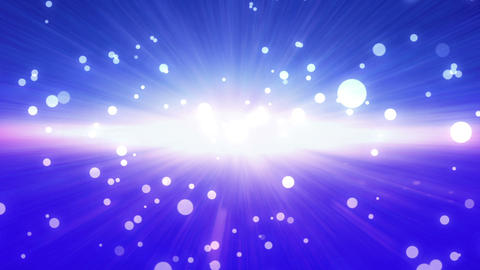 bokeh glow background forward blue Animation