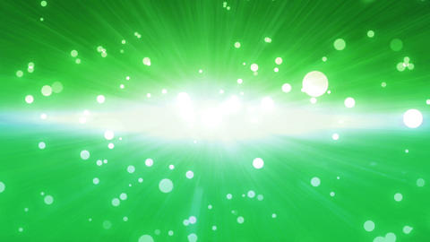 Bokeh Glow Background Forward Green stock footage