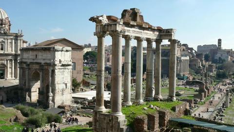 Forum Rome Roma Italy Italia Monument Art Tourism Travel Architecture GIF