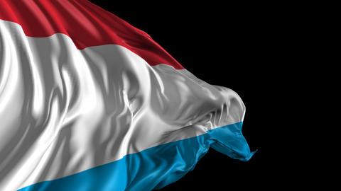 Flag of Luxemburg Animation
