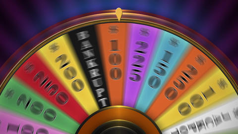 Jackpot Wheel stock footage