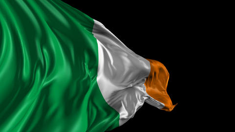 Flag of Ireland Animation