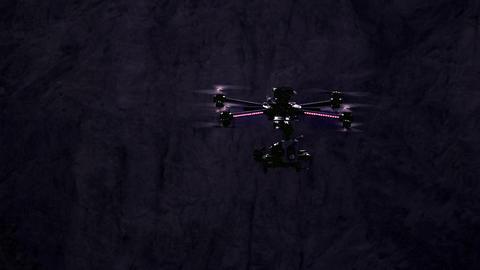 Night exploration Footage