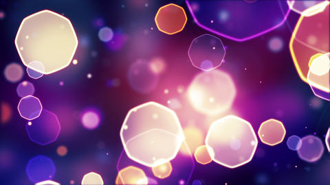 abstract bokeh lights seamless loop 4k (4096x2304) Animation