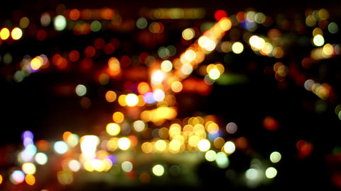 blurred lights of traffic loopable timelapse 4k (4096x2304) Animation