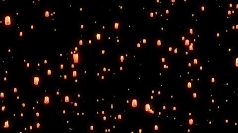 Flying Lantern Footage