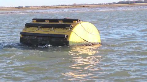 Mooring buoy Footage
