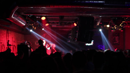 Music concert in club 01 Footage