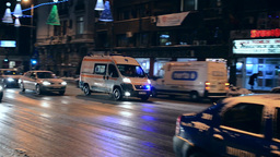 Ambulance in action 04 Footage