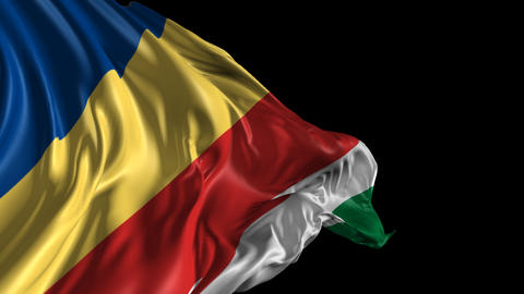 Flag of Seychelles Animation