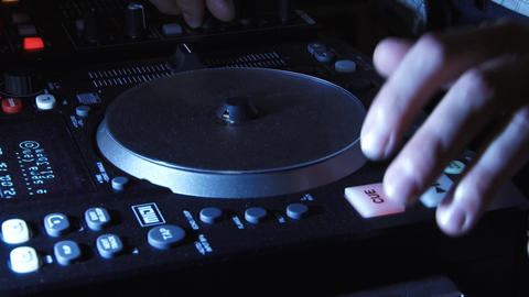 Sound mixer 4 Footage