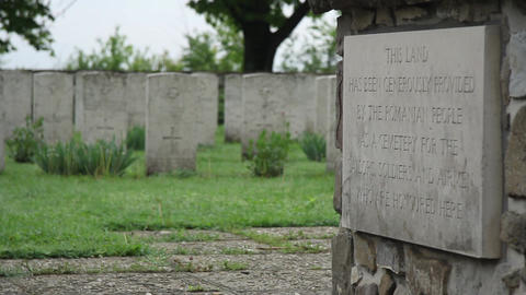 Militar cemetery 32 Footage