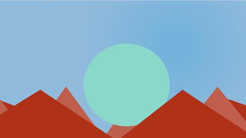 Rising Sun Animation