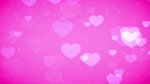 Heart Pink 002 stock footage