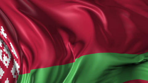 Flag of Belarus Animation