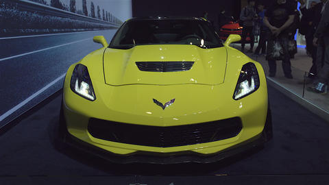 2015 Corvette Z06 in 4K UHD Footage