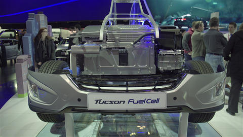 2015 Hyundai Tucson Fuel Cell in 4K UHD Footage