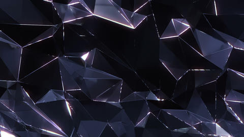Loopable Crystal Background stock footage