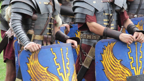 Roman legionaries 74 Footage