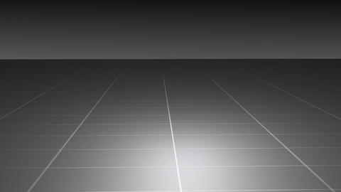 Motion Abstract Gray Grid stock footage